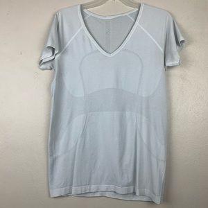 Lululemon Run Swiftly V Neck Shirt 12